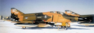 McDonnell RF-4C-31-MC Phantoms 67-0430 and 67-0436 of the 45th Tactical Reconnaissance Squadron. 430 was sent to AMARC on 8 October 1992, while 436 was shot down over Laos 29 July 1970 while assigned to the 14th TRS/432nd TRW at Udon RTAFB.