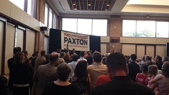 Paxton's 2013 campaign announcement