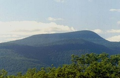 The Catskills in Upstate New York represent an eroded plateau.