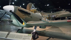 Spitfire at the Wright-Patterson Air Force Museum