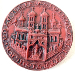 Impression of the city seal of 1319