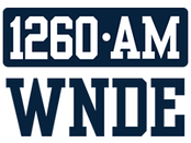 Former WNDE logo, prior to 2015.