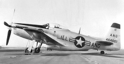 169th Fighter Squadron – North American F-51H-10-NA Mustang 44-64661