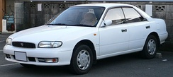 1991 Nissan Bluebird (U13) ARX hardtop sedan (Japan)