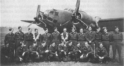 487 Squadron NCOs at RAF Methwold early 1943