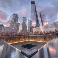 National September 11 Memorial & Museum in New York City.