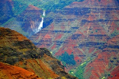 Waimea Canyon and Waipo'o Falls