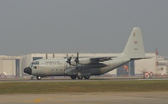 A C-130 of the Royal Thai Air Force in 2013