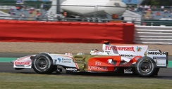 Force India joined the sport after Vijay Mallya purchased the Spyker team.