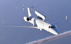 An Embraer E-99 AEW&C aircraft in flight