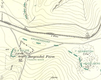 Map of Maurice & Grant showing protuberance