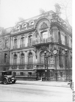 Embassy building on Bendlerstraße, 1928