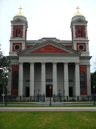 The Cathedral Basilica of the Immaculate Conception, seat of the Archdiocese of Mobile.