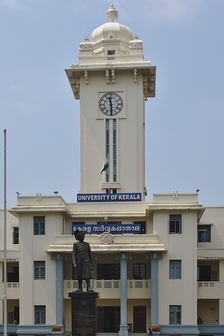 Clock Tower at the University of Kerala
