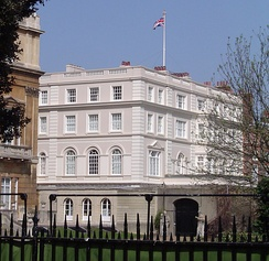 Clarence House, the official residence of the Prince of Wales