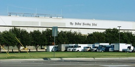 The Dallas Morning News distribution center in Plano, TX.