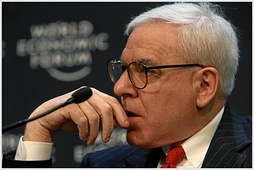 David Rubenstein, the head of the Carlyle Group, the largest private equity firm (by investor commitments) during the 2006–07 buyout boom.[78]