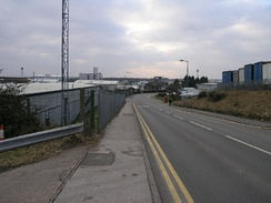 Oxo factory (former Batchelors) on the Dukeries Industrial Estate in Worksop