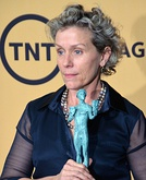 Frances McDormand won for her performance in Olive Kitteridge (2014).