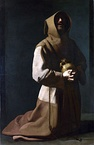 Saint Francis in Meditation, c. 1631–1640, National Gallery