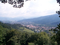 Landscape from the Schlossberg Tower