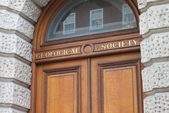The Geological Society offices in Burlington House, Piccadilly, London