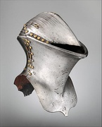 15th-century German frog-mouth helm used in jousting