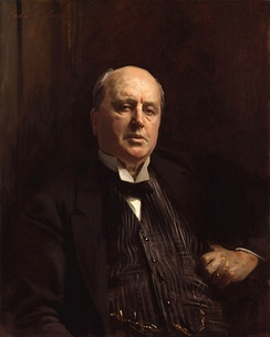 """Portrait of Henry James"", oil painting by John Singer Sargent (1913)"