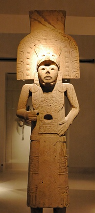 Huastec statue from the Tampico Region, 14th–16th centuries