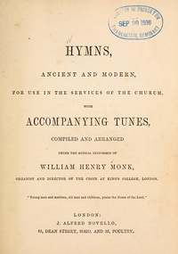 Hymns Ancient and Modern (first edition 1861).jpg