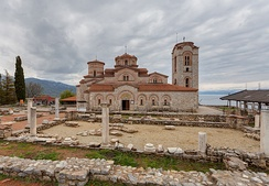 The Church of St. Clement and St. Panteleimon in Ohrid