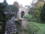 Lansdown Cemetery, Entrance Gates, Piers and Walls