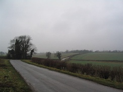 A rural road in Lincolnshire