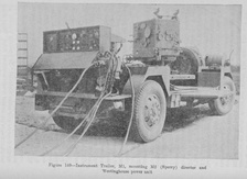 M1 Instrument trailer used with 3-inch antiaircraft gun