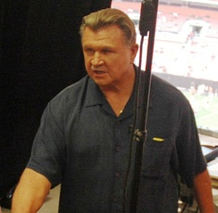 Bears Hall of Famer Mike Ditka is the only person in the modern era to win an NFL championship as a player and coach for the Chicago Bears.