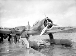 Northrop N-3PB of the Norwegian-manned No. 330(N) Squadron operated out of Iceland, October 1941