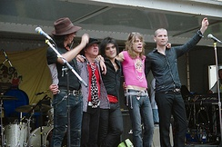 The New York Dolls in 2006