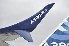 The A380plus winglet mockup
