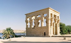 A Trajanic temple on the island of Philae, the newly established border between the Nobatae and Blemmyes and Roman Egypt[125]