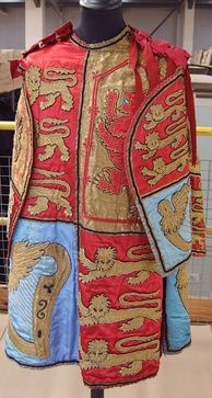 Tabard worn by a herald in the College of Arms