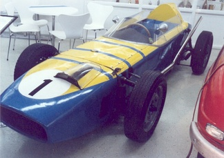 Saab Formula Junior in the Saab Museum