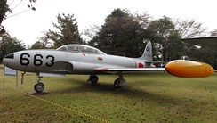 T-33A of the Japan Air Self-Defense Force.