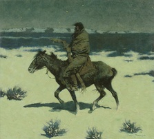 The Luckless Hunter, 1909, Oil on canvas, Sid Richardson Museum