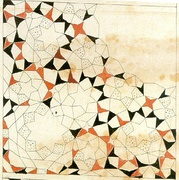 Design of a muqarnas quarter vault from the Topkapı Scroll