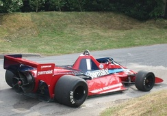 "The radical 1978 Brabham BT46B, which was known as the ""Fan Car"" due to its large fan was powered by an Alfa Romeo engine."