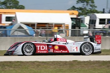 Audi R10 TDI in the 2008 12 Hours of Sebring, 2008