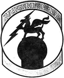 Emblem of the 813th Aircraft Control and Warning Squadron