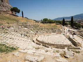 View of the Theatre and Sanctuary of Dionysus