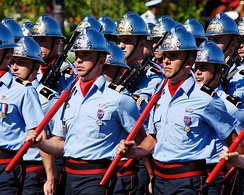The Paris Fire Brigade is a French Army unit which serves as the fire service for Paris and certain sites of national strategic importance.