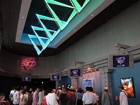 Captain EO waiting area at Tokyo Disneyland in 2013